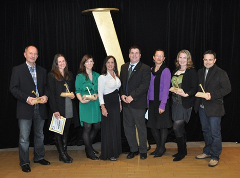 Port Moody Spike Awards winners